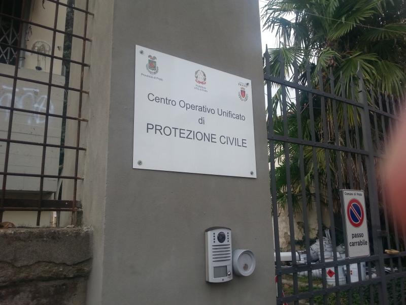 Sede della Protezione Civile di Prato, via Alessandro Lazzerini 58. Credits: @Andrea Intonti