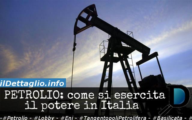 La Consorteria Petrolifera – Viaggio nel polmone nero del Potere italiano