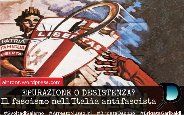 """Epurazione o desistenza? I fascisti """"ripuliti"""" nell'Italia post-regime"""