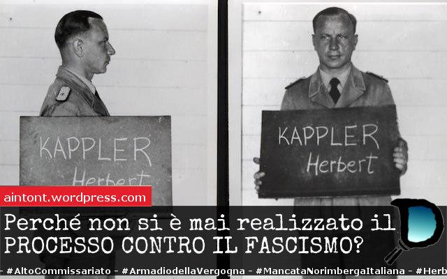 I processi ai simboli del fascismo e la mancata Norimberga italiana